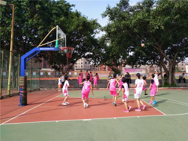 晋江初级中学生篮球赛举行
