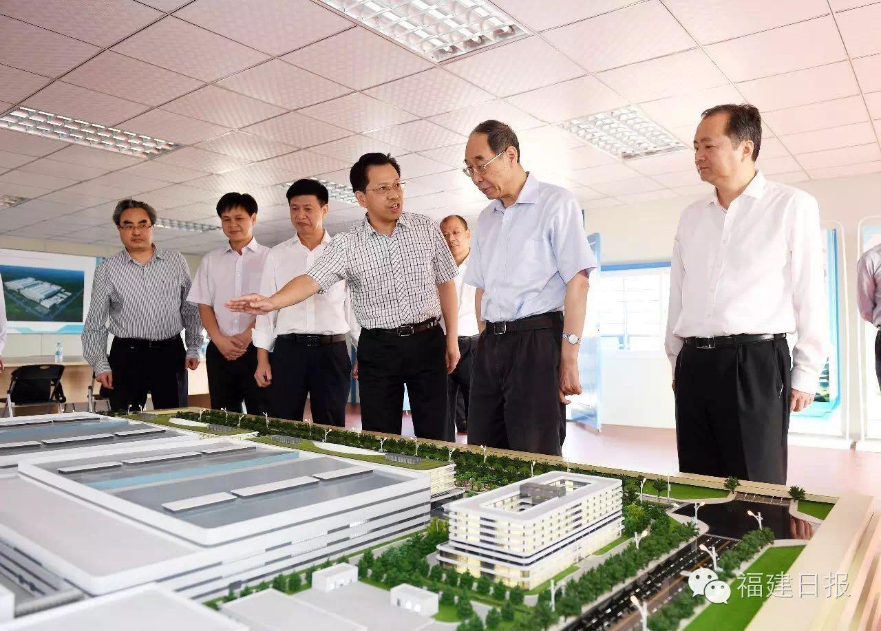 省委书记尤权调研晋华集成电路项目