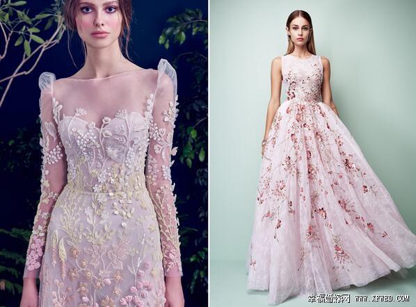 2017年你不可错过的七大时尚婚纱趋势