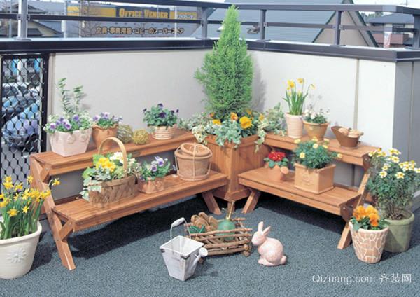 木制花架摆放位置 木制花架效果图