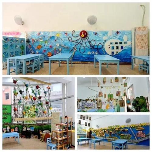 变!变! 第三实验幼儿园教学环境焕新颜图片