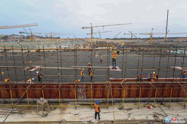 集成电路项目主厂房将于10月封顶