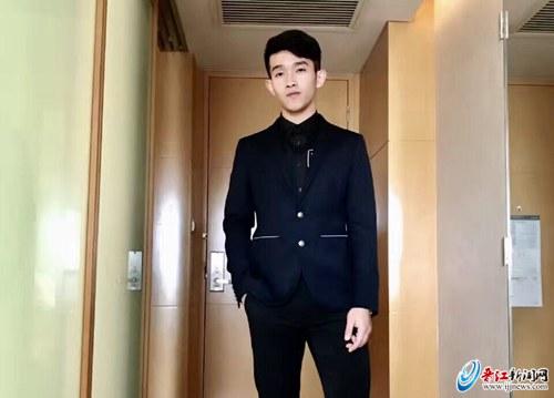 晋江小伙首次入选排球全明星赛 柯俊煌:玩得很开心