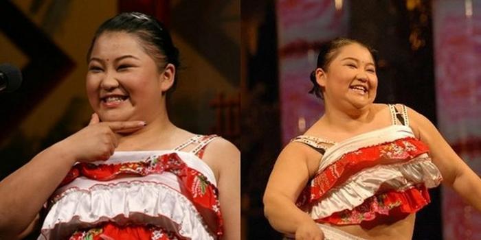 赵本山女徒弟胖丫减肥前后对比照 赵丹减掉了55公斤