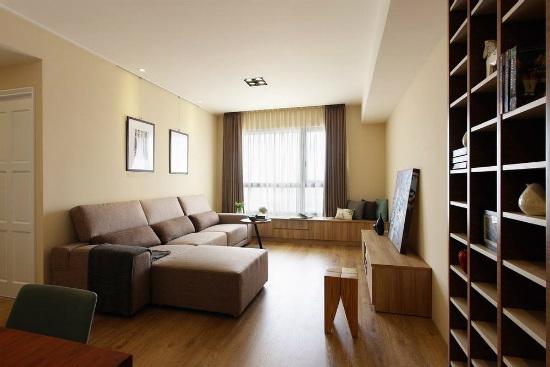 浅木淡色SOHO空间 92平简约式公寓