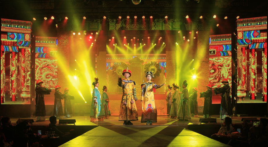快乐传奇综艺大舞台开业盛典启动仪式