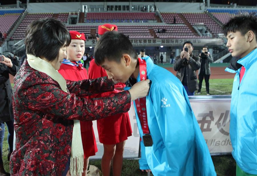 """2015.12.11 """"晋江杯""""全国青少年男子足球冠军赛"""