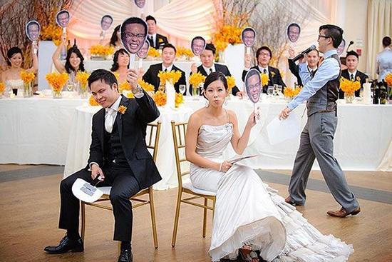 10种娱乐让婚礼充满乐趣