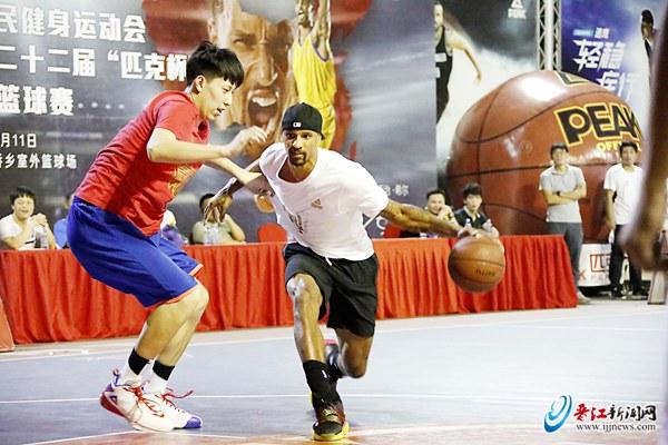"""NBA球星乔治·希尔中国行·泉州站 畅谈篮球 遭球迷现场""""表白"""""""