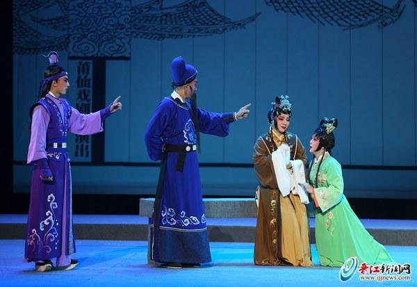 老少共赏《海神妈祖》 莆仙戏剧院副院长黄艳艳期待再来晋江演出