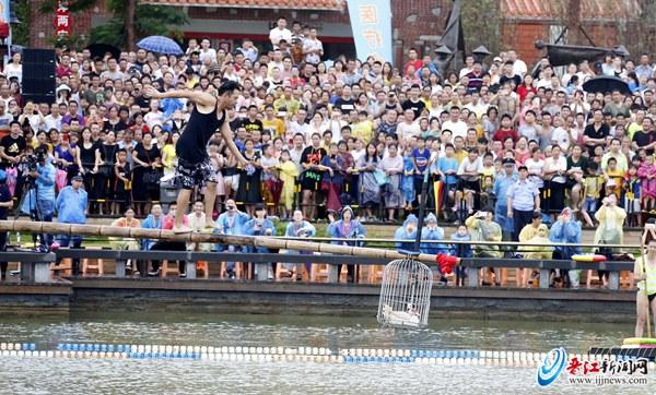 晋江市(安海)第七届两岸端午民俗旅游文化节昨举办
