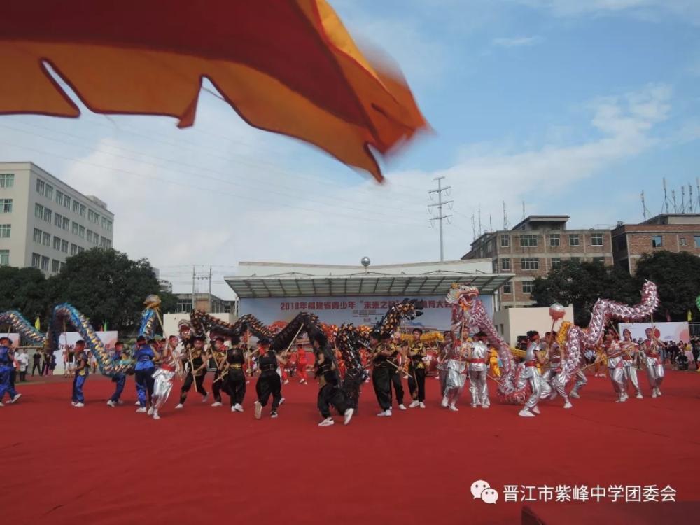 """2018年福建省青少年""""未来之星""""阳光体育盛会在紫峰中学隆重举行"""