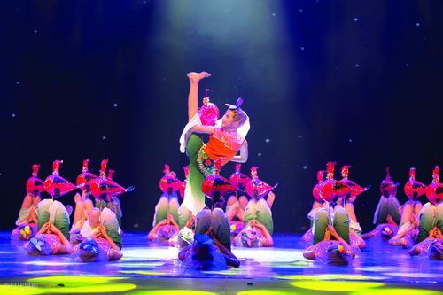 海边的孩子跳起了舞 晋江元素舞蹈再获全国金奖