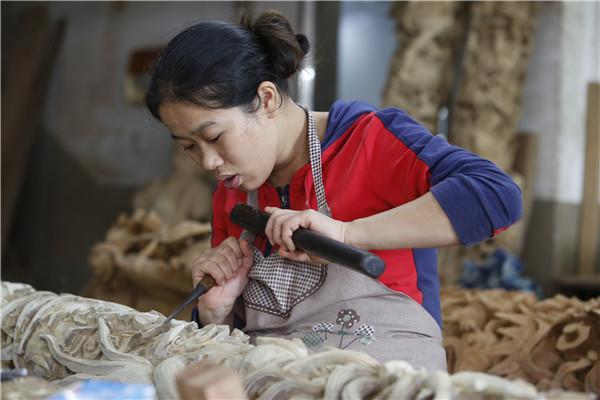 东石潘山:木雕之乡起新凤