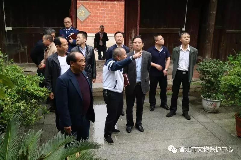 晉江市開展文物消防安全專項檢查