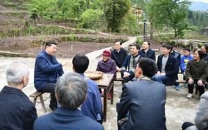 记习近平总书记在重庆专题调研脱贫攻坚