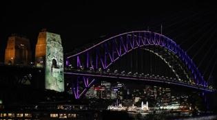 第十一届悉尼灯光音乐节开幕