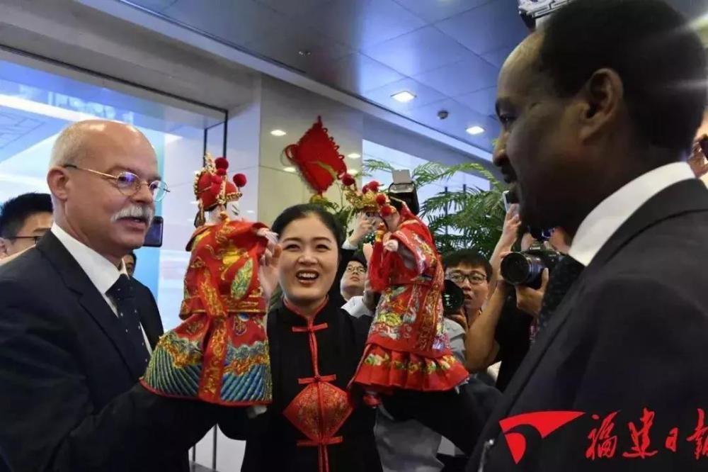 外交部福建全球推介活动 晋江这些文化元素闪耀世界!