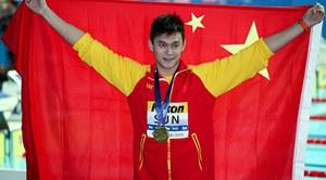 孫楊400米自霸氣奪金成就四連冠 中國游泳軍團迎來開門紅