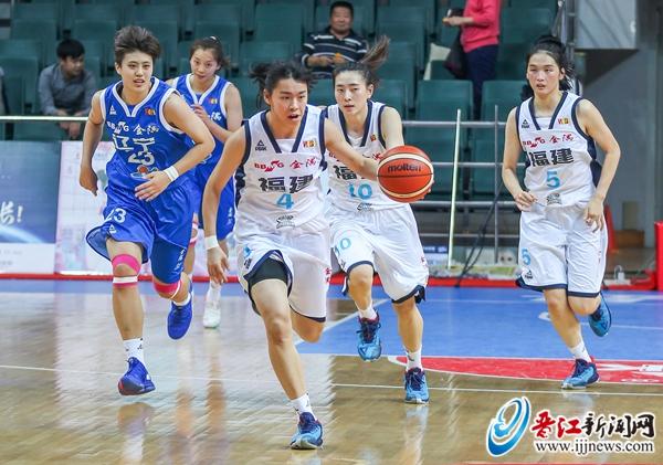 全國女籃錦標賽第二階段 福建恒安心相印女籃今日迎戰陜西隊