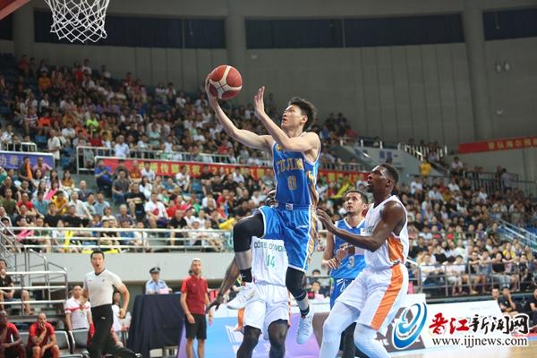晋江国际篮球对抗赛落幕 晋江文旅不敌科特迪瓦