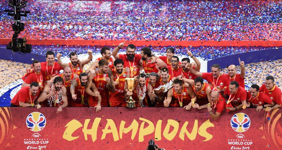 西班牙队夺得2019年篮球世界杯冠军