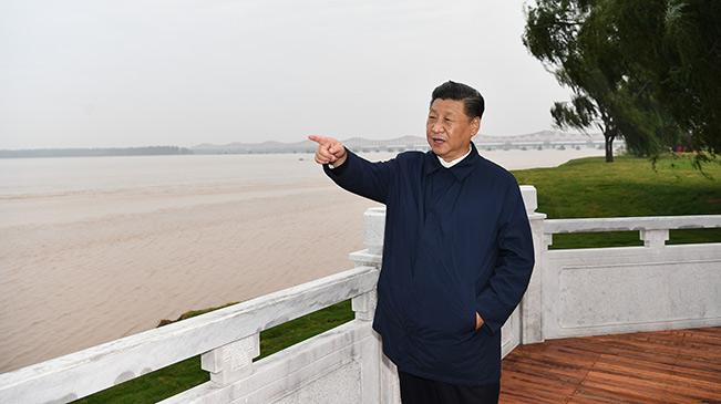 习近平在河南主持召开黄河流域生态保护和高质量发展座谈会
