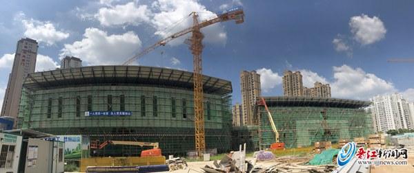 泉州五中桥南校区预计年底竣工 体育馆列入2020年世界