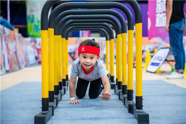 晉江首屆少兒體能挑戰賽