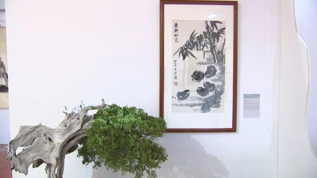 盆景与书画的完美结合,鸿江盆景植物园的视觉盛宴