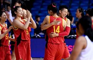 女籃東京奧運會資格賽亞大區預賽:中國輕取菲律賓晉級