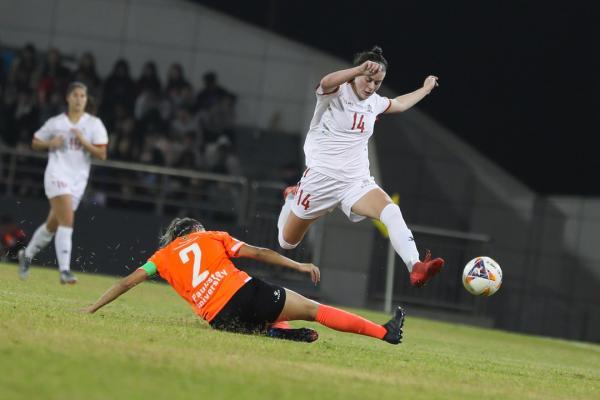 【女子决赛】组图:渥太华大学队(加拿大)1:0保利斯塔大学队(巴西)