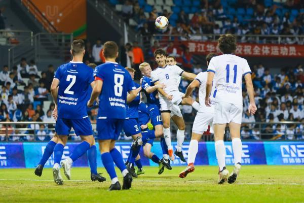 【男子决赛】组图:乌拉圭共和国大学队2:1澳大利亚伍伦贡大学队