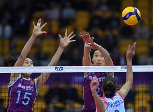 女排世俱杯:天津女排遭逆轉 恒大迎來開門紅