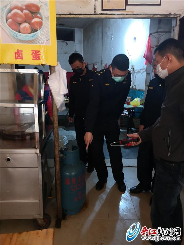 池店镇开展餐饮行业燃气安全检查