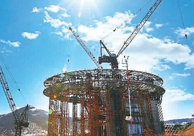 北京冬奥会张家口赛区40个在建项目全部复工