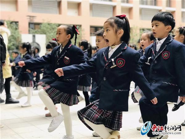 安海中心小学举行队列队形、课间