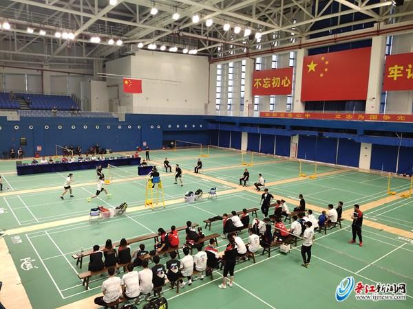 检验集训成果 国羽集训队在晋江训练基地举行队内对抗赛
