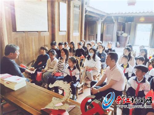 """让党史教育""""活""""起来 晋江教育系统掀起党史学习教育热潮"""