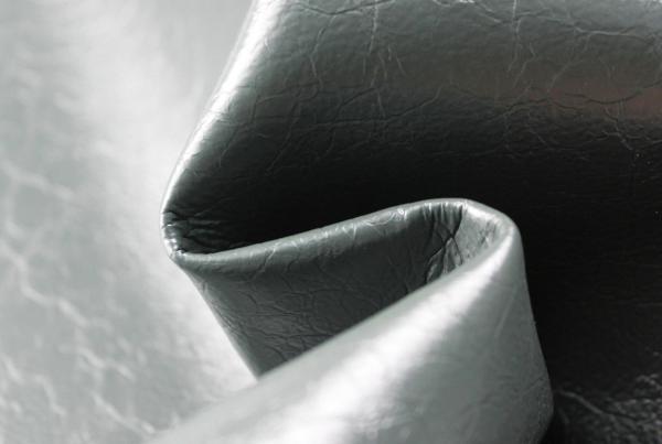 超纤真皮细折纹皮革