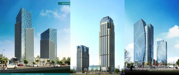 滨江企业总部大楼建筑方案初步确定