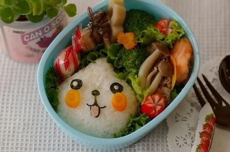 日本小盆友的便当盒 超可爱 便当|可爱