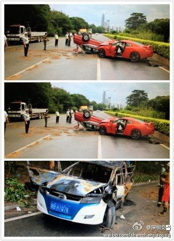比亚迪因电动车事故股价大跌 锂电池安全受质疑高清图片
