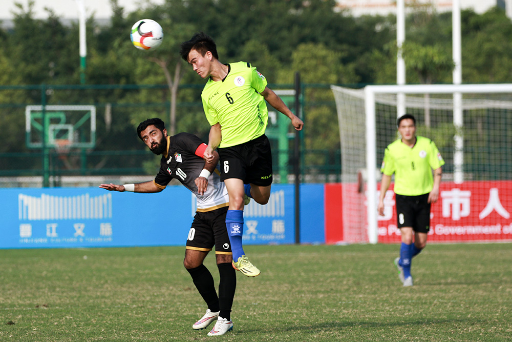 [Men's Qualifying Round 2] Pics: Mongolian National Institute of Physical Education 0:3 American University in the Emirates