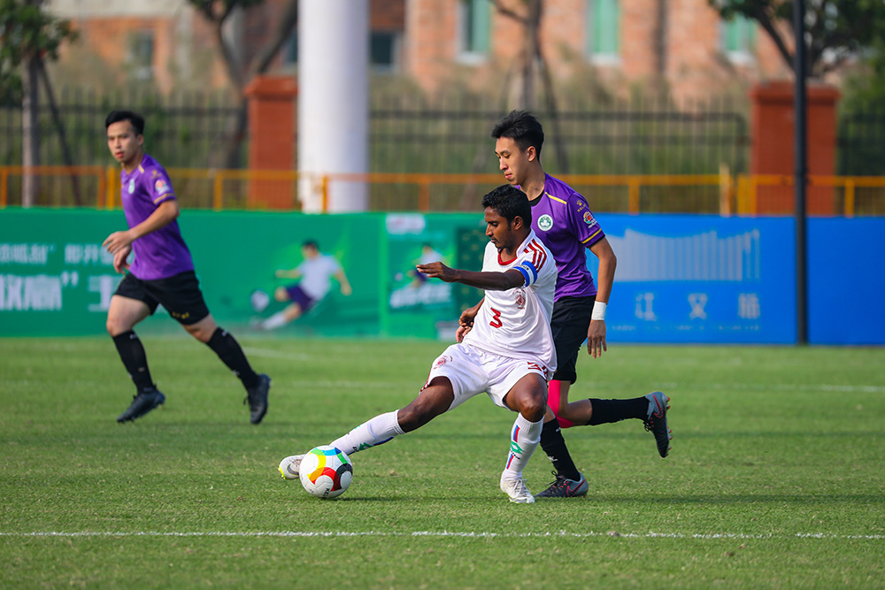 [Men's Qualifying Round 2] Pics: University of Burdwan 2:1 Macau Polytechnic Institute