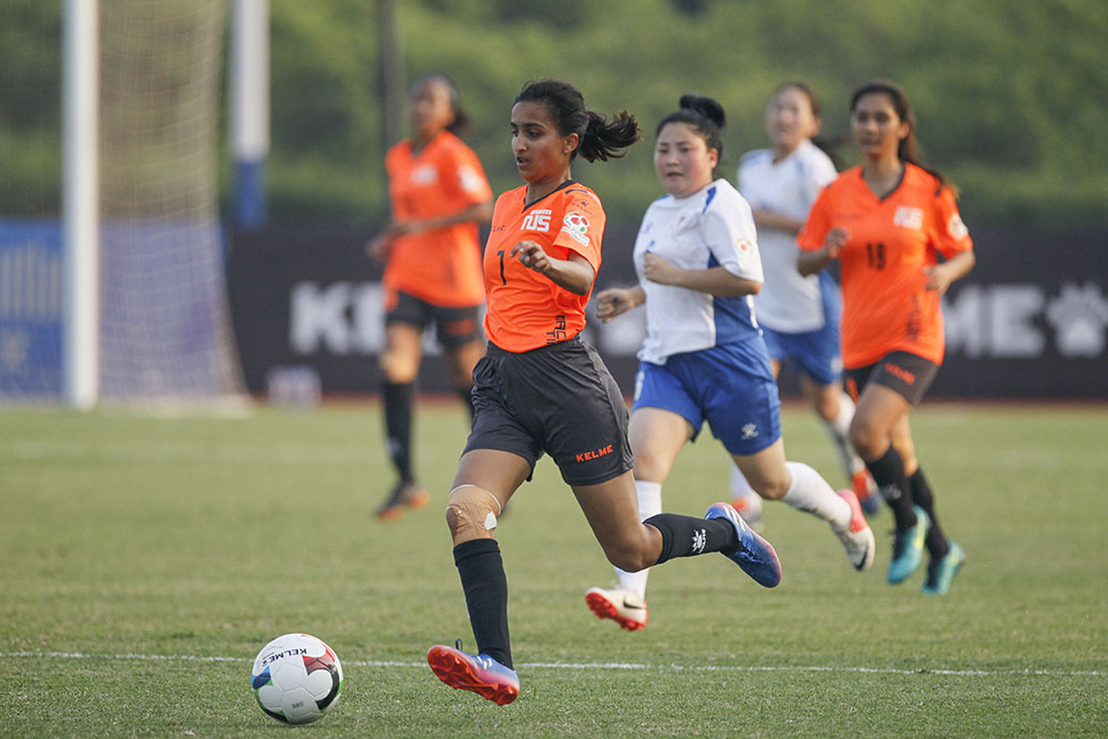 [Women's Qualifying] Pics: Mongolian State University of Education 0:0 National University of Singapore