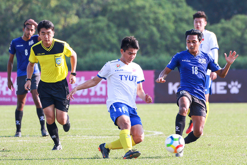 [Men's Qualifying Round 1] Pics: Taiyuan University of Technology 3:0 National University of Singapore