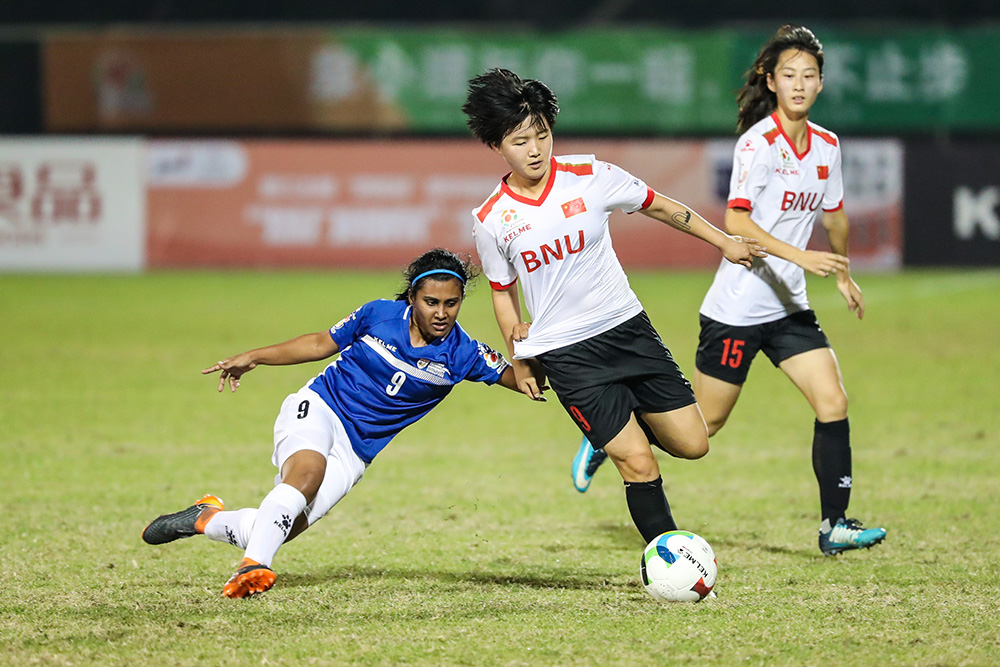 [Women's Group Match - Round 3 of Group A] Pics 2: Beijing Normal University 8:0 Nanyang Technological University
