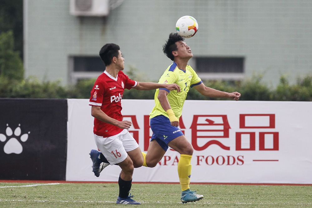 [Men's Group Match - Round 3 of Group A] Pics: Hong Kong Polytechnic University 2:2 Taiyuan University of Technology